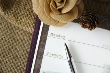 close up planner page