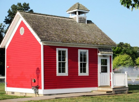 3 Red schoolhouse