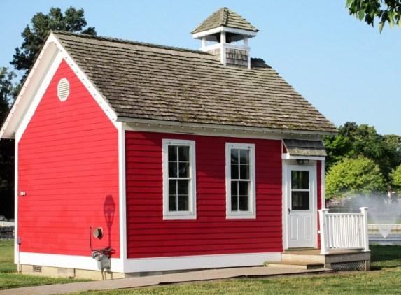 3 Red schoolhouse