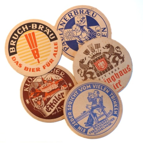 beer coasters from pinterest1