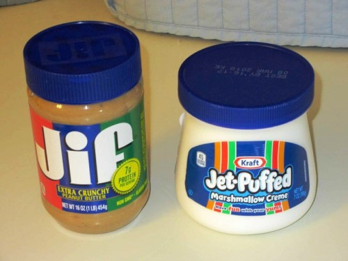PEANUT BUTTER AND FLUFF