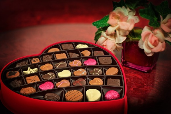 valentines day heart chocolates by jill111