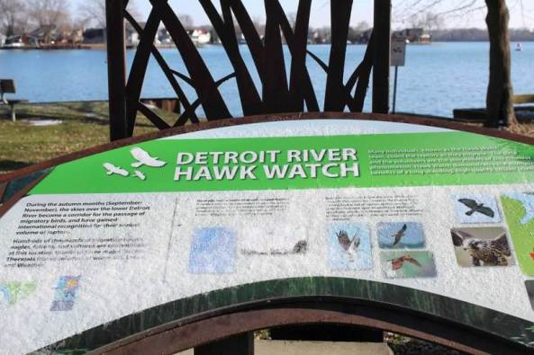 boat launch sign