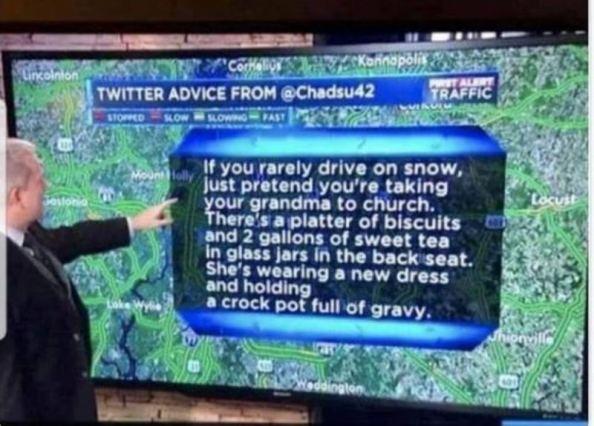 driving advice