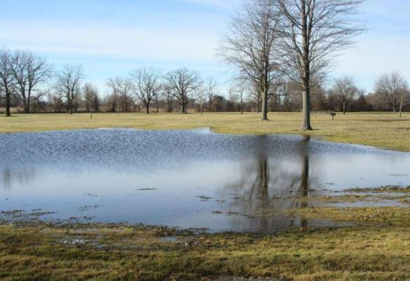 fake lake