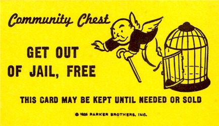 get out of jail card free pinterest