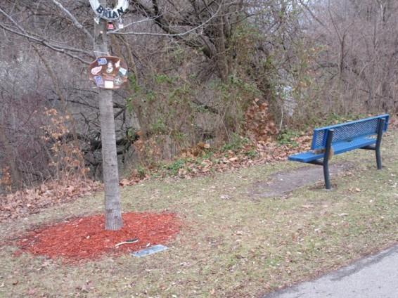 proximity of bench